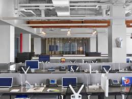 office workspaces. Hudson Rouge NYC 23 700x525 9 Inspirational Open Office Workspaces C