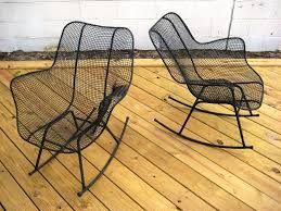 modern outdoor rocking chairs — home decor creativity  the modern