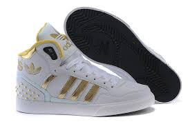 adidas shoes 2016 gold. 2015 adidas high-top shoes for women white gold 2016