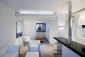 White Living Room, Modern Apartment in Reykjavik, Iceland