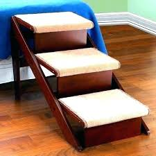 dog bed stairs pet bed steps wood pet beds folding dog steps for bed wooden full