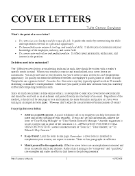 Cover Letter Examples Pdf Experience Resumes