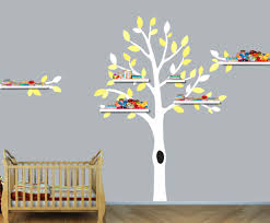 tree wall decal with shelves popular tree decal shelves buy cheap tree  decal shelves lots from