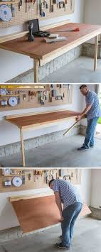 Fold Up Shelf Best 25 Folding Workbench Ideas On Pinterest Workshop