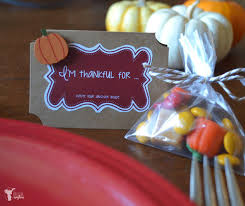 thanksgiving table favors. Classy Thanksgiving Party Favors To Inspire Gratitude Table