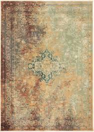 oriental weavers dawson 8324a rust gold area rug