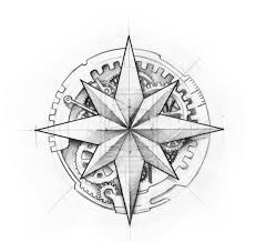 Small Picture Compass Rose Coloring Page aversion to conformity Pinterest