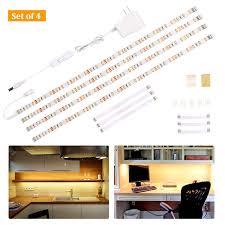 2700k Under Cabinet Lighting Wobane Under Cabinet Lighting Kit Flexible Led Strip Lights Bar Under Counter Lights For Kitchen Cupboard Desk Monitor Back Shelf 6 6 Feet Tape Light