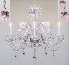 girls bedroom chandelier unique girls ceiling fan chandelier