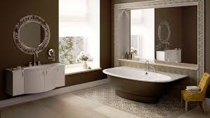 Decorative Bathroom Sinks Luxurious Bathroom Design With Oval Drop In Tub And Undermount