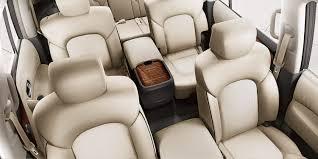 nissan armada 2018 grey. nissan armada interior showing second row captain\u0027s chairs 2018 grey
