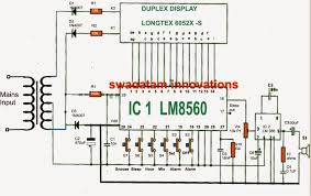 simple digital clock circuit explained electronic circuit projects as be witnessed in the given diagram the heart of the circuit is formed by the ic1 lm8560 which is assigned the following outputs terminals