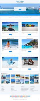 Template Features Blue Ocean Joomla 3 Free Bootstrap Template