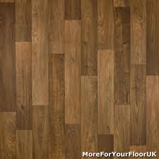 details about 3 8mm thick vinyl flooring realistic brown wood plank effect lino kitchen