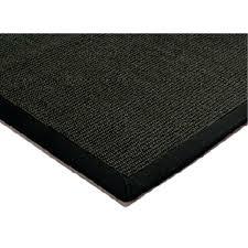 black sisal rug black black border sisal rugs black and natural sisal rug