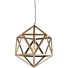revel brass pendant lamp modernist lighting