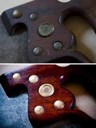 antique hand saw types. henry disston hand saw brass medallion restoration before and after antique types o