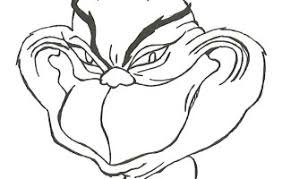 Small Picture Grinch Face Coloring Page How To Draw The Grinch Easy Step 7