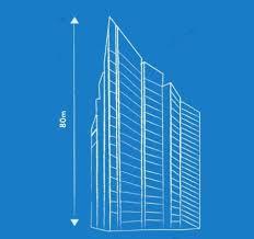 architecture blueprints skyscraper. Plain Blueprints Famous Mies Skyscraper Prototype In Architecture Blueprints Skyscraper I
