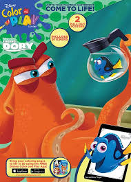 There are lots of adventures, an interesting soundtrack and others things. Disney Finding Dory Color Play Color Play Ultimate Sticker Poster Activity Book Bendon