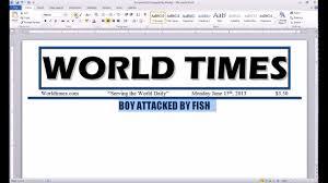 Newspaper Report Template Microsoft Word 003 Maxresdefault Newspaper Template Microsoft Word