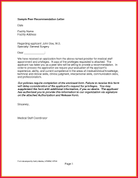 Sample Of Recommendation Letter Sop Examples