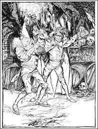 Arthur Rackhams Illustrations To Edgar Allan Poes Tales Of