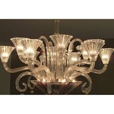 mille nuits chandelier in light baccarat crystal mathias 1990s