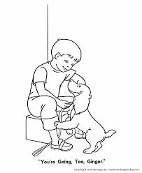 Pet Dog Coloring Pages Free Printable Pet Coloring Pages Ginger