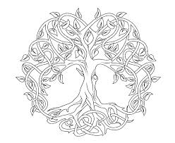 You might also be interested in coloring pages from christmas tree category. Tree Coloring Pages For Adults