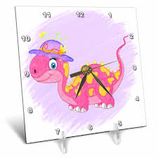 bonded leather desk set 6 piece pink. Get Quotations · Doreen Erhardt Kids Collection - Pink And Yellow Girl Dinosaur With A Purple Hat In Crayon Bonded Leather Desk Set 6 Piece
