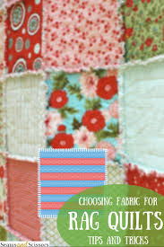 Tips and Tricks Tuesday: How to Choose Fabric for Rag Quilts ... & Tips and Tricks Tuesday: How to Choose Fabric for Rag Quilts Adamdwight.com