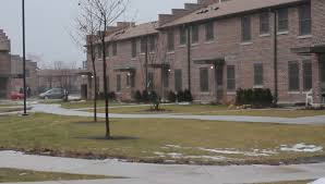 chicago il u s a january 16th 2018 altgeld gardens housing project