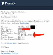 You don't have to submit a claim when you visit a provider who is part of your plan's network. Bad Design The Regence Blue Shield Dashboard Jeff Reifman