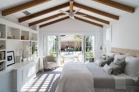 Farmhouse Bedding Sets with Farmhouse Bedroom and Built in Shelving ...