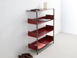 lacquered powder coated steel shelving unit pool 110 by mox