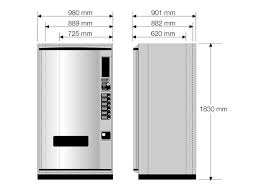 Soda Vending Machine Size