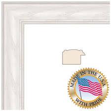 art to frames 4098 white wash on ash photo frame 24 x 36 acrylic glass