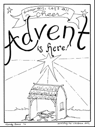 Great Advent Wreath Coloring Page 23 For Print With In Coloring
