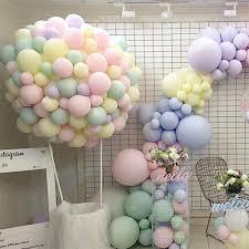 30pcs <b>Macarons</b> Ballons Pastel Party Candy <b>Balloons 1st</b> 2nd 3th ...