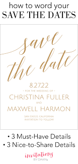 Save The Date Template Word Save The Date Wording Invitations By Dawn