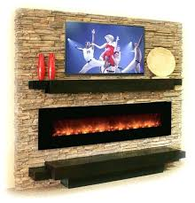 stone electric fireplace tv stand with really love long gas and above would corner