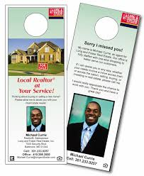 Door Hanger Design Template Awesome Door Hangers CBL Enterprise Marketing