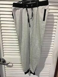 Coco Limon Fleece Womens Jogger Long Zipper Pockets