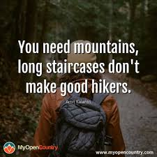 71 Inspirational Hiking Quotes To Get You Motivated My Open Country