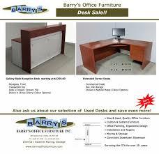 office furniture sale. Extended Corner Desk Sale - Reception At Barry\u0027s Office Furniture I