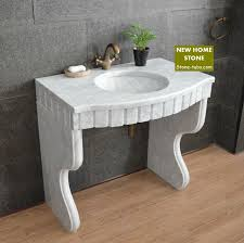 marble pedestal sink. Delighful Sink Marble Pedestal Sink Vanity Bathroom Design Idea Cabinet Wash Basin Carrara  Countertop Throughout Pedestal Sink