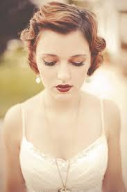 my inspiration for my 1920s esque hair and makeup for prom