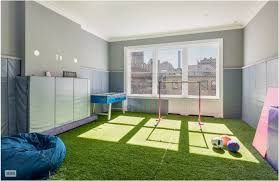 fake grass indoor. Exellent Indoor Children Can Play Comfortably Indoors With Their Own Realistic Synthetic  Turf Playroom Photo Credit Brown Harris Stevens Intended Fake Grass Indoor