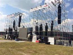 concert stage speakers. concert layer stage lighting truss systems 48.3mm outdoor events speakers stand